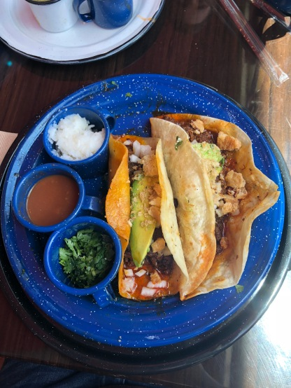 El Mariachi taco at Amacate in Beaumont, TX