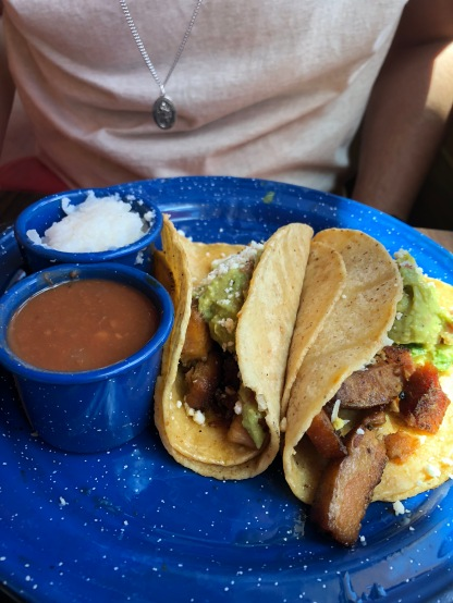 Chubby Pork taco at Amacate in Beaumont, Texas.