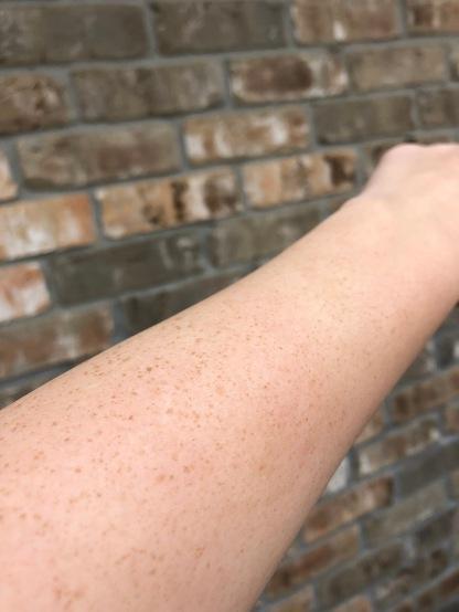 My skin before applying.